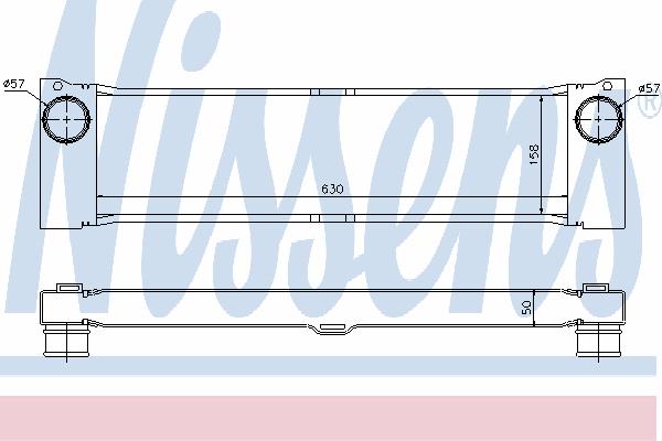 Интеркулер NISSENS 96729