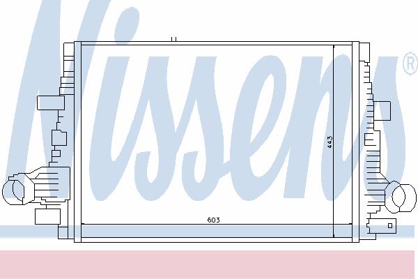 Интеркулер NISSENS 96644