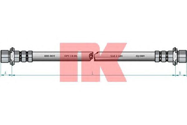 Тормозной шланг NK 8545183