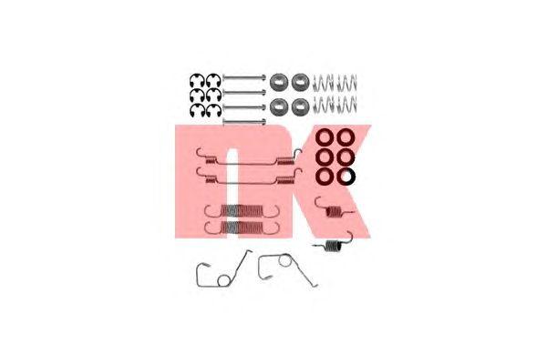 Монтажный комплект тормозных колодок NK 7925705