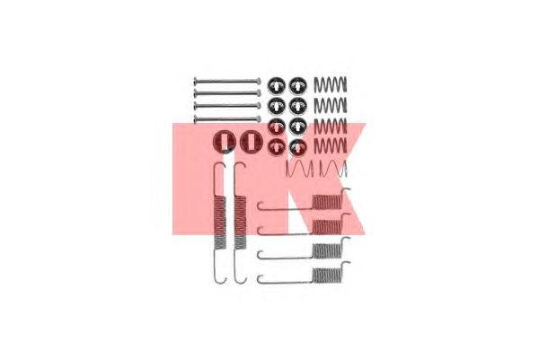 Монтажный комплект тормозных колодок NK 7933715