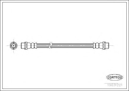 Тормозной шланг CORTECO 19031221