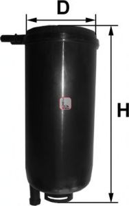 Топливный фильтр SOFIMA S 1071 B