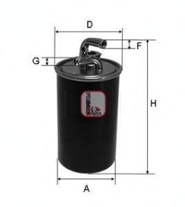 Топливный фильтр SOFIMA S 4030 NR