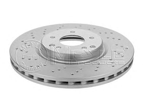Тормозной диск MEYLE 015 521 0006/PD