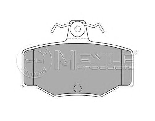 Тормозные колодки MEYLE 025 215 4515