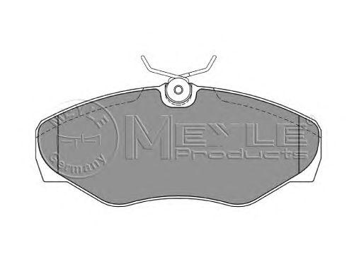 Тормозные колодки MEYLE 025 230 9918