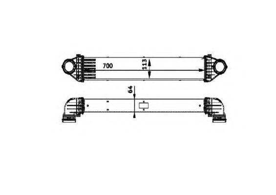 Интеркулер NRF 30900