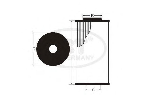 Масляный фильтр SCT Germany SH 4059 P