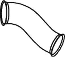 Труба выхлопного газа DINEX 66127