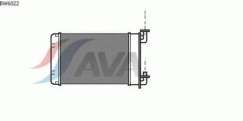 Радиатор отопителя AVA QUALITY COOLING BW6022