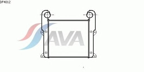 Интеркулер AVA QUALITY COOLING DF4012