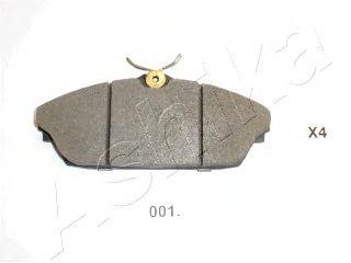 Тормозные колодки ASHIKA 50-00-001