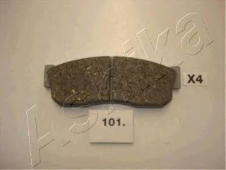 Тормозные колодки ASHIKA 50-01-101