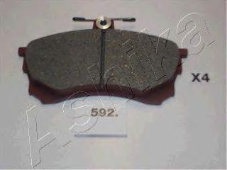 Тормозные колодки ASHIKA 50-05-592