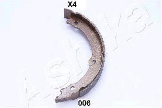Тормозные колодки ручника ASHIKA 55-00-006