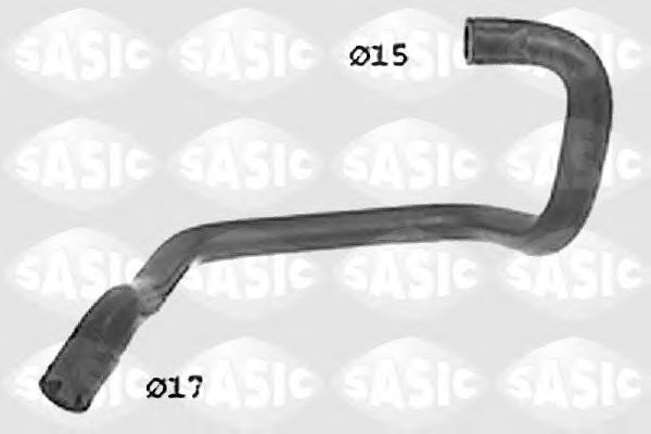 Шланг радиатора SASIC SWH0358