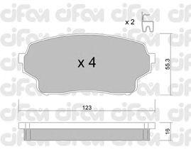 Тормозные колодки CIFAM 822-765-0