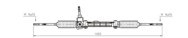 Рулевой механизм GENERAL RICAMBI FI4115