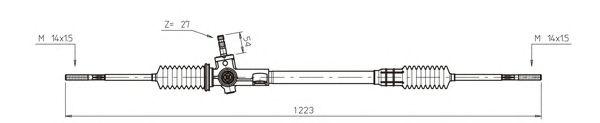 Рулевой механизм GENERAL RICAMBI RV4014
