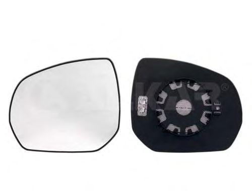 Стекло зеркала заднего вида ALKAR 6402858