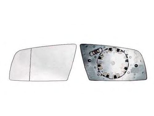 Стекло зеркала заднего вида ALKAR 6422856
