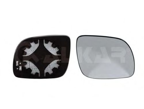 Стекло зеркала заднего вида ALKAR 6432521