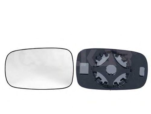 Стекло зеркала заднего вида ALKAR 6451228