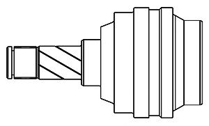Комплект ШРУСов GSP 662015