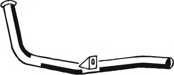 Труба выхлопного газа ASMET 03.063
