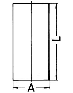 Гильза цилиндра KOLBENSCHMIDT 89184190