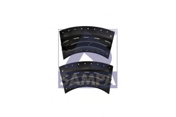 Тормозные колодки SAMPA 030.645