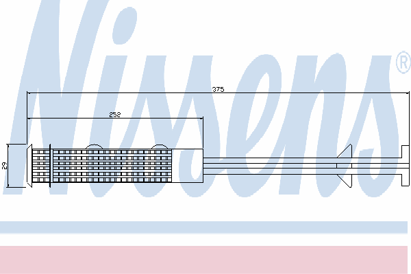 Осушитель кондиционера NISSENS 95403