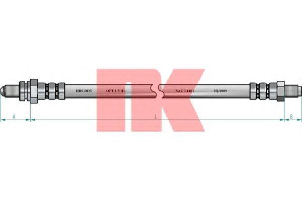 Тормозной шланг NK 8525145