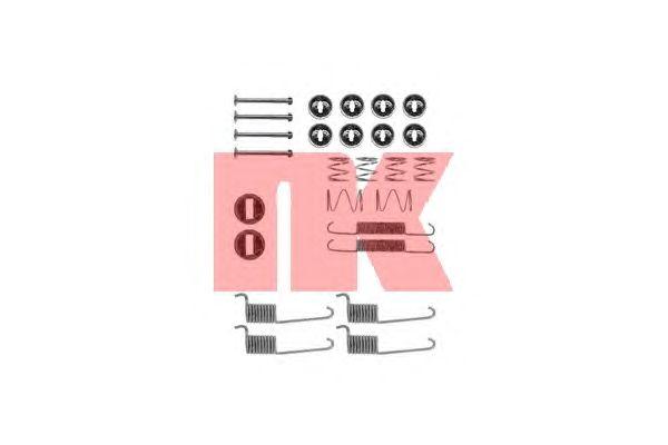 Монтажный комплект тормозных колодок NK 7933714