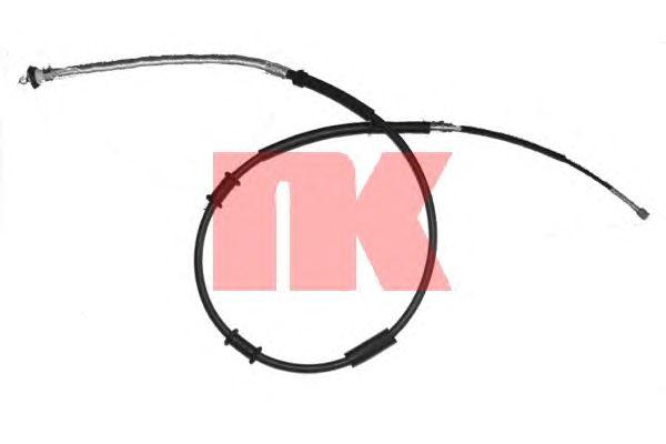 Трос ручника NK 9023133