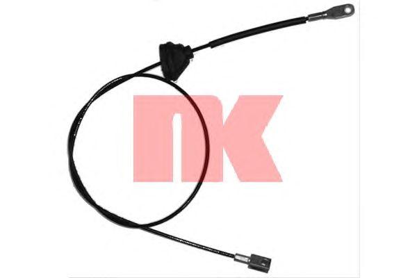 Трос ручника NK 904826