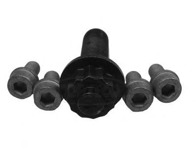 Комплект болтов, ременный шкив - коленчатый вал CORTECO 80001266