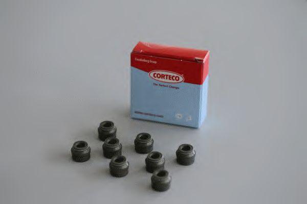 Комплект сальников клапанов CORTECO 19036074
