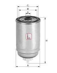 Топливный фильтр SOFIMA S 0319 NC