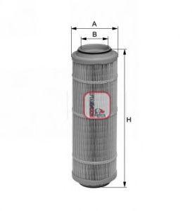 Воздушный фильтр SOFIMA S 7593 A