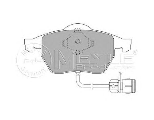 Тормозные колодки MEYLE 025 206 7619/W