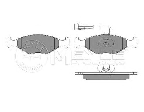 Тормозные колодки MEYLE 025 232 2018/W
