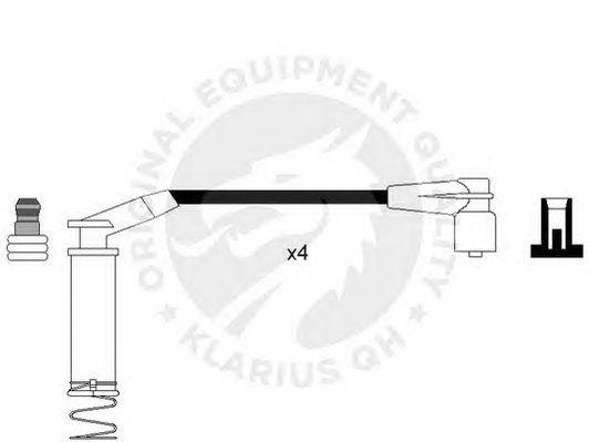 Комплект высоковольтных проводов QH International XC795 CI