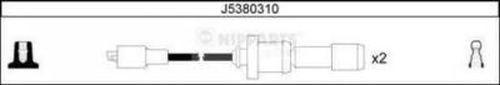 Комплект высоковольтных проводов NIPPARTS J5380310