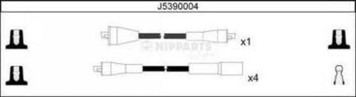 Комплект высоковольтных проводов NIPPARTS J5390004