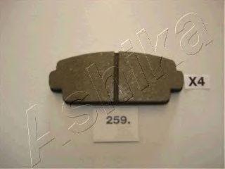 Тормозные колодки ASHIKA 50-02-259