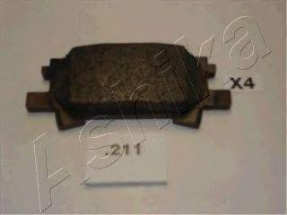Тормозные колодки ASHIKA 51-02-211