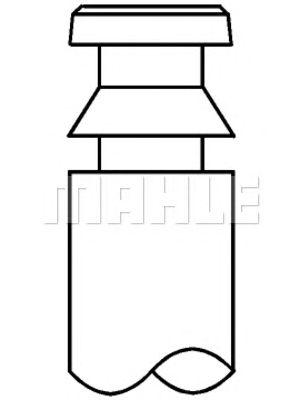 Впускной клапан MAHLE ORIGINAL 061 VE 30986 000