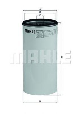 Топливный фильтр MAHLE ORIGINAL KC 375D